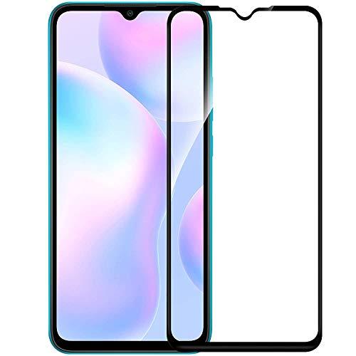 Nishtech® Edge to Edge 11D Tempered Glass Screen Protector for Xiaomi Redmi 9/9A/9i (2020)
