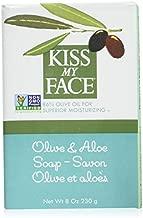 Kiss My Face Soap Bar Olive & Aloe 8 Ounce (235ml) (6 Pack)