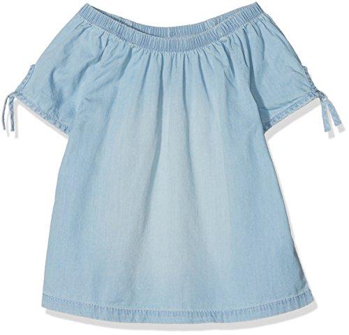 s.Oliver Mädchen 66.805.12.2185 Bluse, Blau (Blue Denim Non Stretch 53y2), 164 (Herstellergröße: L)