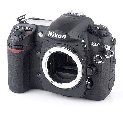 Nikon D200 10.2MP Digital SLR Camera (Body Only) (Discontinued by Manufacturer)