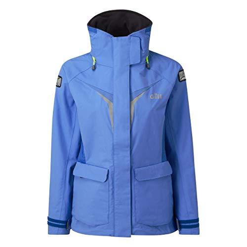Gill Womens OS3 Coastal jas jas jas lichtblauw met thermische isolatie. Waterdicht en ademend