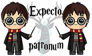 Gourde avec inscription et image Série Magiciens (Harry)