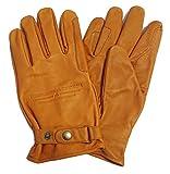 Westernwear Westernhandschuhe & Reithandschuhe Nappaleder Unisex Westernhandschuhe Reitsporthandschuhe Lederhandschuhe Cowboy Leather Gloves Outdoor Braun (L)