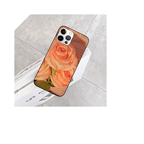 Beautiful Flowers - Carcasa para iPhone SE, 5, 6, 6S, 7, 8 Plus, XR x XS Max 11, 12 Pro max-A6 para iPhone 11 Pro.