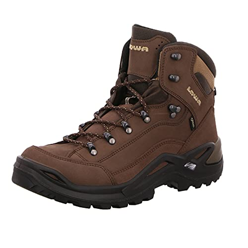 Lowa Men's Renegade GTX Mid Hiking Boot,Expresso/Brown,11 M US