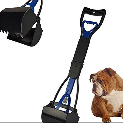 Generic Pooper Scooper Hundekotschaufel, langer Griff, 61°cm, rot