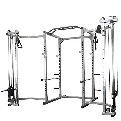 Valor Fitness BD-33BCC Power Rack with Cable Crossover Attachment