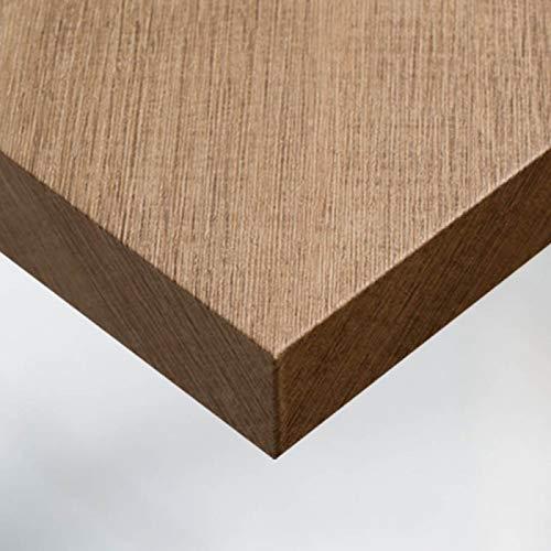 Dimexact Selbstklebende Beschichtung für Möbel und Wände in Holzoptik Eiche, Moderne Eiche, Breite 1,22 m, Rolle
