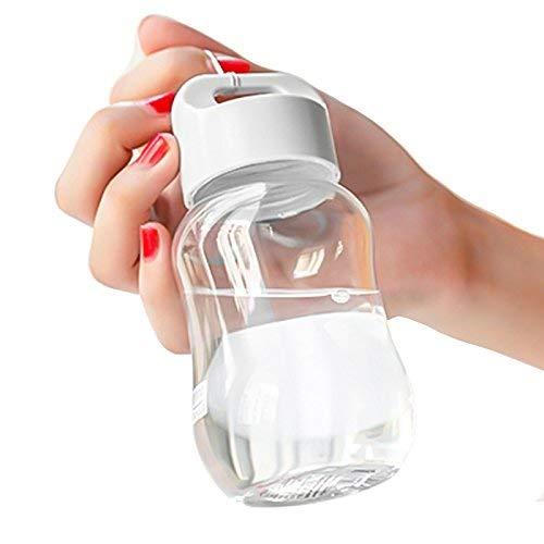STYHOMSUN Mini Gourde Mini Bouteille D'eau En Plastique Alimentaire Protéine Shaker Camping Randonnée Bouteille 180 ML