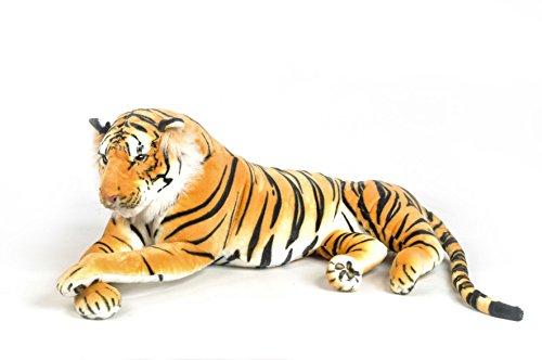 Très beau tigre en peluche de 135 cm de longueur (avec la queue).