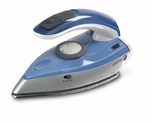 Fagor PLV-150 Plancha de Viaje, 1100 W, 0 Decibeles, Acero Inoxidable, Azul, Gris
