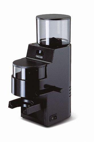 GAGGIA RI9100/21 Kaffeemühle MDF schwarz mit Stahl-Mahlwerk