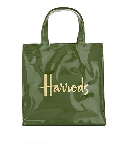 Harrods - Bolso de asas de pvc para mujer Verde Verde S