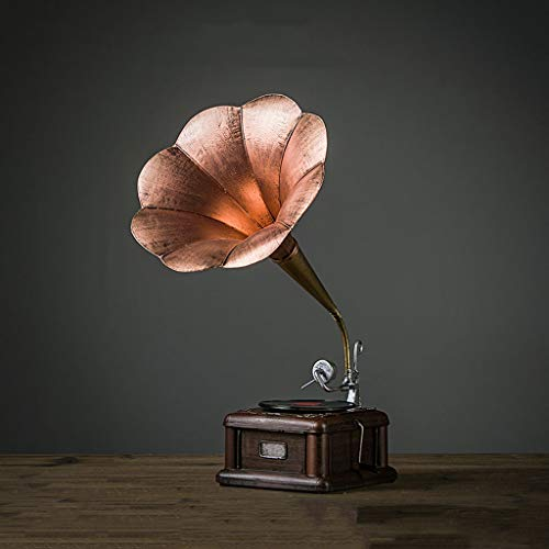 CKH Medium Size Gramophone Model Retro Ornamenten Creatieve Europese Woonkamer TV Kast Display Model Kamer Decoraties