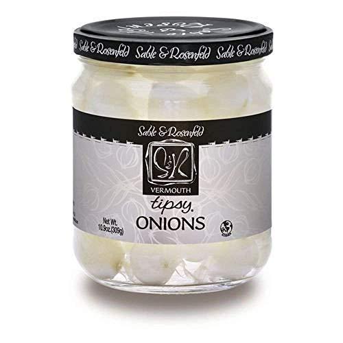 Sable & Rosenfeld Tipsy Onions - 10.9 Oz (Two Jars)