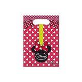 Les Colis Noirs LCN - 6 Sachet Surprise Disney Minnie Mouse - Sac Cadeau Bonbon Fête Anniversaire - 045