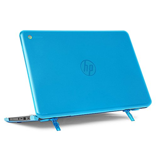 mCover Hard Shell Case for 14' HP Chromebook 14 G5 / 14-CA / 14-DB Series (NOT Compatible with Older HP C14 G1 / G2 / G3 / G4 Series) laptops (HP C14-G5 Aqua)