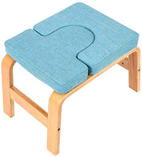 Fee-ZC Home draagbare fitnessbank - pilatesstoel, gymhallenbank yoga kruk yoga hoofdstand bank yoga inversie-stoel kruk handstand voor turnhallen verlichting van vermoeidheid