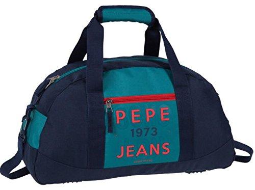 Pepe Jeans Reed Bolsa de Viaje, 27 Litros, Color Verde