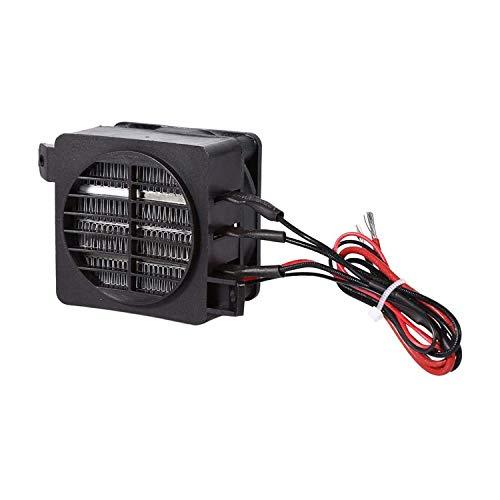 HJJH Calefacción de Coches de cerámica, Calentador de Aire Porque PTC Ahorro de energía Calentadores de Viento de Ahorro de automóviles Calentador de Calentamiento de Temperatura Constante 120 W 12V