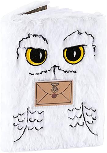 FIOXOO El Nuevo Exquisito Harry Potter Hedwig A5 Pollook Cuaderno (Blanco)