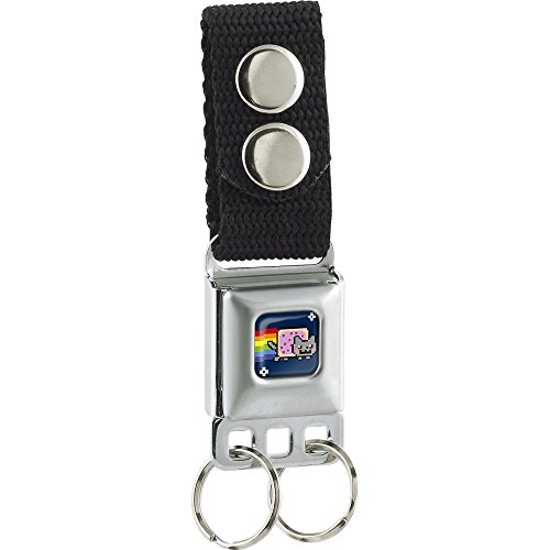 Buckle-Down Keychain - Nyan Cat