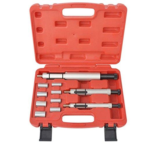 Xingshuoonline Stahl Kupplungsausrichtungswerkzeug Set 11-teilig für die meisten Autos und leichten Nutzfahrzeuge