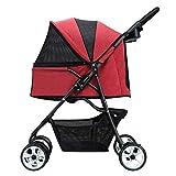 Pet Stroller Pet Folding cart Shopping cart Large Capacity Storage Basket Pet Travel
