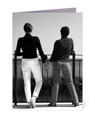 Looking Toward Our Future - Gay and Lesbian Wedding, Valentines Day, Birthday, Anniversary Greeting Card