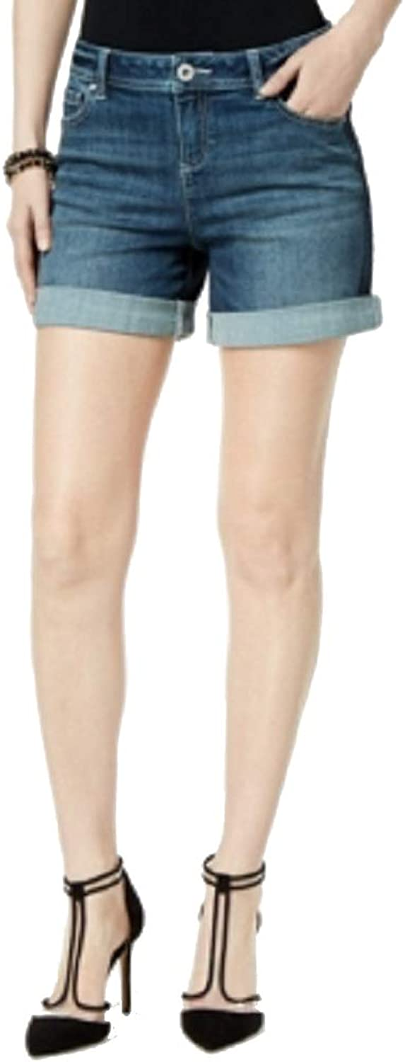INC International Concepts I.N.C. SideStripe 5  Denim Shorts