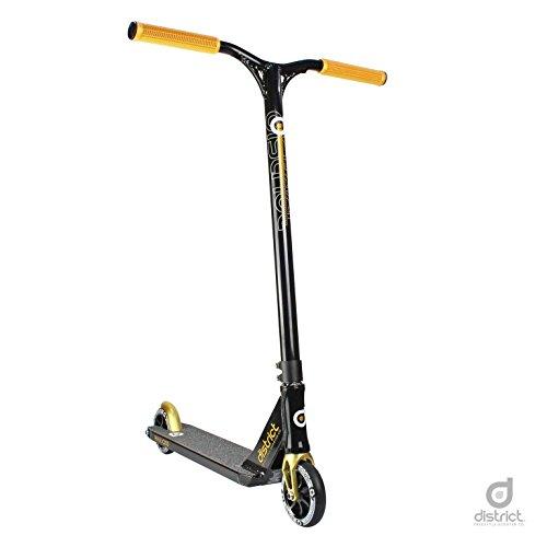 District C-Series C253 Pro Stunt Scooter - vari Colori (Oro Negro)