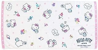 Marushin Sanrio Hello Kitty Bath Towel Ice Cream A1202 81873-9