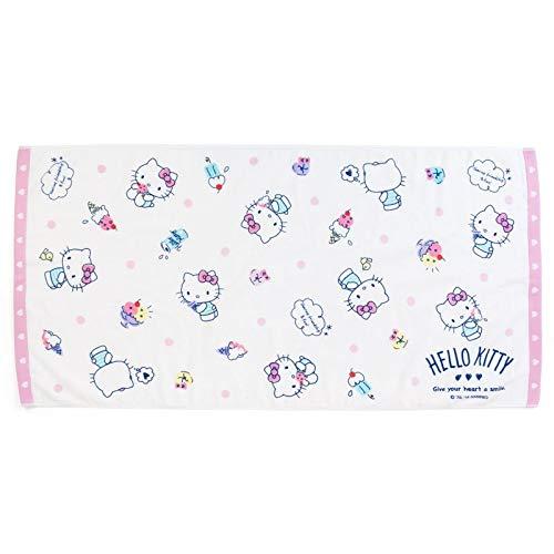 Marushin 81873-9 Sanrio Hello Kitty - Toalla de baño, Color Crema