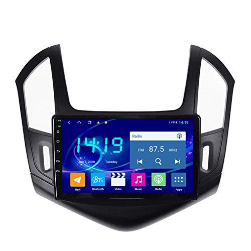 Coche Navegación System Android 9.1 para Chevrolet Cruze 2012-2015 Cuatro Nucleos 9' HD Pantalla Táctil In Dash Car con GPS Sat Nav USB FM 4.0 Bluetooth WiFi USB