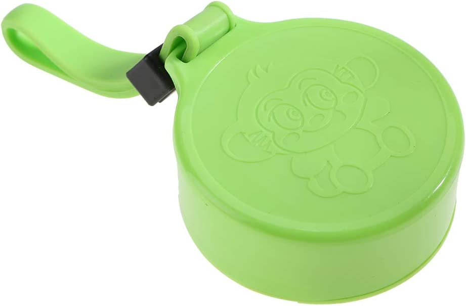 Soapow 350-400 ml exprimidor de plástico recargable mini extractor de jugos para hacer batidos de jugo en el hogar Verde