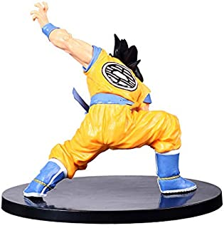 CLEARNICE Decoration Dragon Ball Z Son Goku Fusion Super Saiyan Awakening Gohan Trunks Father PVC Anime Figure Collection Model Decorative Ornaments