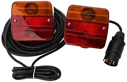 Berger + Schröter 20125 Anhängerbeleuchtung 3 Kammern mit Magnethalter