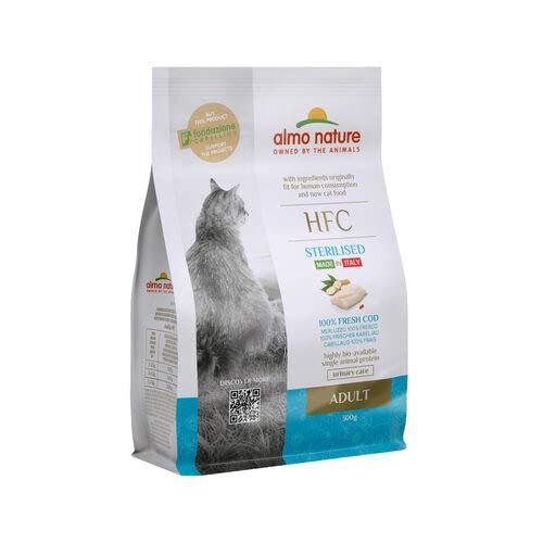 almo nature HFC Adult Sterilised Cat Food – Cod - 300 grams