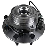 MACEL 515098 Front Wheel Hub Bearing Assembly Compatible with 07-09 Chevy Silverado 2500/3500/2500HD, GMC Sierra 3500/2500HD, 08-09 Hummer H2 8 Lugs W/ABS