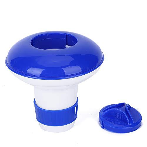 LZKW Dispensador Flotante para Piscina, dispensador para Piscina fácil de Transportar con Tapa de Bloqueo para Piscina para SPA