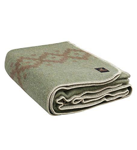 Thick Alpaca Wool Blanket Heavyweight Alpaca Wool Blanket Camping Outdoors...
