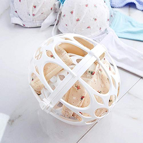 MFKW dubbele bolvormige waszak BH beschermer damesondergoed Basket Ondergoed Ball-vormige Wasmachine Waszakken Wasserij