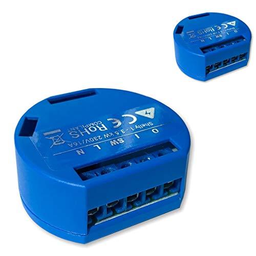 Shelly 1 actuador de conmutación WiFi 16 A (paquete...