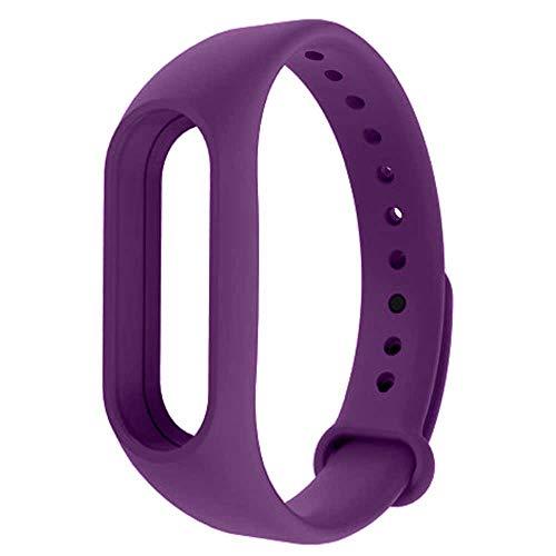 OcioDual Recambio para Pulsera Activ. Xiaomi Mi Band 4 3 Smartwatch Correa Reloj Morado