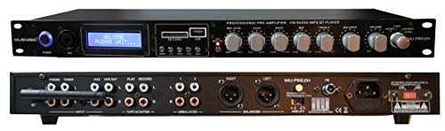 MUSYSIC MU-PRE2H Professional Audio Sound Processor Preamp Pre-Amplifier Pre-Amp. Buy it now for 99.99