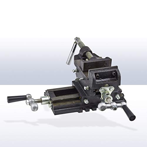 DEMA 2 Achsen Maschinenschraubstock 100