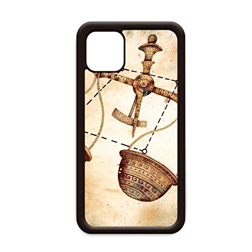 September oktober Weegschaal sterrenbeeld Zodiac voor Apple iPhone 11 Pro Max Cover Apple mobiele telefoonhoesje Shell, for iPhone11