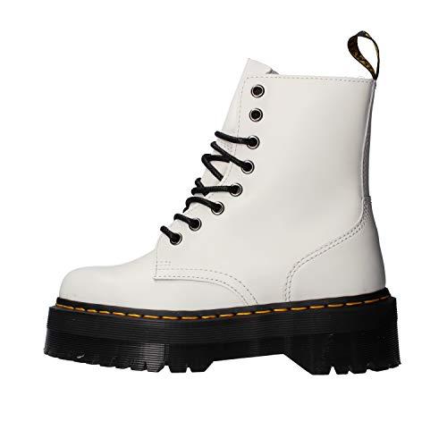 Dr. Martens Jadon, Zapatos de Escalada Unisex Adulto, Color Blanco 15265100, 40 EU