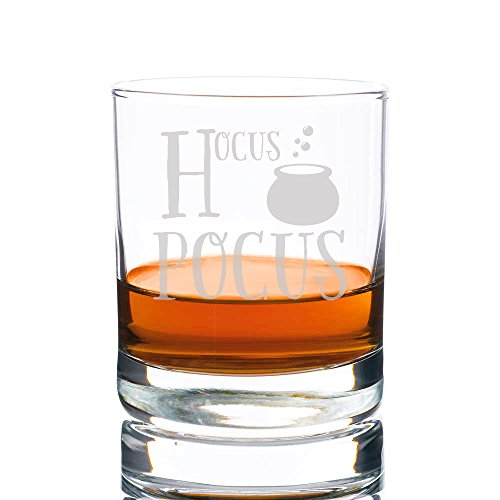 Hocus Pocus Engraved Rocks Glass