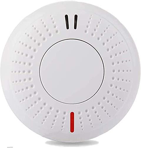 Sendowtek Alarma de Humo Independiente, Vida útil de La Batería de 10 Años, Detector de Humo con Certificación TUV EN14604 CE/ROHS, Voz de 85dB para Escuela/Dormitorio/Cocina/Oficina/Hogar
